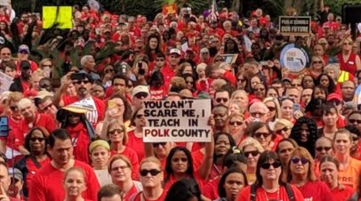 The Red Weekend, part 1: the great and happy re-branding of Polk County