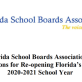 The FSBA rises: a strong, important document on re-opening schools shows it can be a force for advocacy